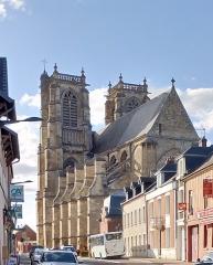Eglise Saint-Pierre (ancienne abbatiale) - Abbatiale Saint-Pierre de Corbie, vue générale