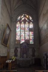 Eglise Saint-Jean - English: Eglise Saint-Jean-Baptiste. Péronne. Hauts de France, Somme. France. The chapel of the Holy Heart (la chapelle du Sacré-Cœur). . la chapelle du Sacré-Cœur. Photographer: Paul M.R. Maeyaert. pmrmaeyaert@gmail.com. www.pmrmaeyaert.eu; www.polmayer.com. © Paul M.R. Maeyaert; pmrmaeyaert@gmail.com. Ref: PM_113541_F_Peronne