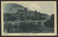 Château (ruines) - English: Châteaux Ardèche
