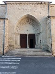 Eglise Notre-Dame-des-Pommiers - Français:   Entrée côté sud.