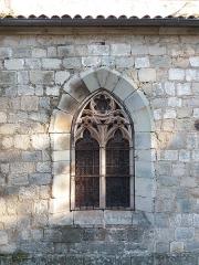 Eglise Notre-Dame-des-Pommiers - Français:   Fenêtre.