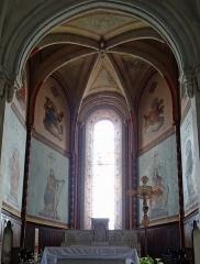 Eglise Notre-Dame-des-Pommiers - Français:   Largentière - Église Notre-Dame-des-Pommiers - Abside
