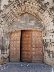Eglise Saint-Julien - Français:   Portique de l\'Église St-Julien en Tournon-sur-Rhone (Ardèche, France)