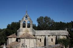 Eglise - Deutsch: Kirche Sainte-Croix in La Baume-de-Transit