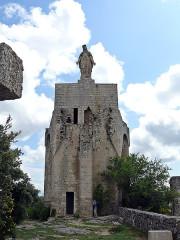 Tour - donjon -  Clansayes, Templerturm