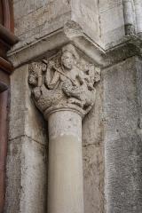 Ancienne cathédrale, actuellement Eglise Notre-Dame - Deutsch: Kapitell in der Vorhalle der Kathedrale Notre-Dame in Die