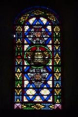 Ancienne cathédrale, actuellement Eglise Notre-Dame - Deutsch: Bleiglasfenster in der Kathedrale Notre-Dame in Die