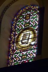 Ancienne cathédrale, actuellement Eglise Notre-Dame - Deutsch: Bleiglasfenster in der Kathedrale Notre-Dame in Die, Darstellung: Evangelien