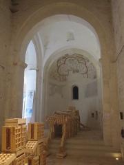 Château des Adhémar ou des Papes - Français:   Choeur de la chapelle Saint-Pierre du château des Adhémar à Montélimar