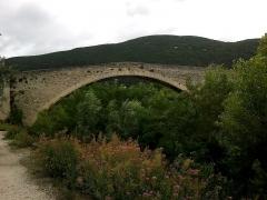 Pont sur l'Eygues -  Drome Nyons Vieux Pont 10072014