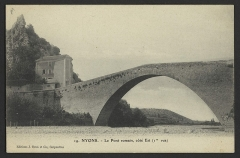 Pont sur l'Eygues - English: CA 1900