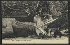 Pont sur l'Eygues - English: CA 1910
