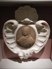 Cathédrale Saint-Apollinaire - Dans le Musée de Valence (Dôme), Médaillon d'Alexandre Milon, évêque.