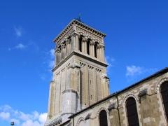 Cathédrale Saint-Apollinaire - Clocher de la cathédrale Saint-Apollinaire de Valence # Drôme (26) .