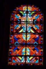 Eglise Saint-Jean - Deutsch: Bleiglasfenster in der Kirche Saint-Jean-Baptiste in Valence