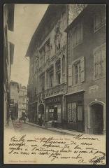 Maison des Têtes - English:   CA 1900 - 1903