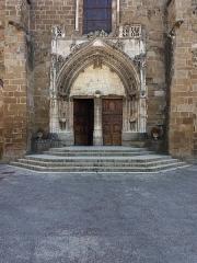 Eglise Saint-Theudère - Français:   Portail.