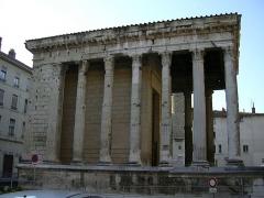 Temple d'Auguste et de Livie -  Temple of Augustus and Livia in Vienne, France