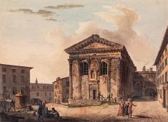 Temple d'Auguste et de Livie - Église Sainte-Marie-la-Vieille