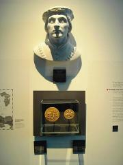 Ancien évêché -  buste du dauphin Humbert Ier , musée de l'ancien évéché - Grenoble