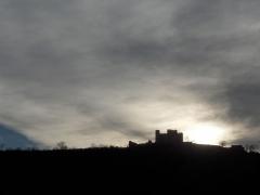 Tour - English: Chateau of Essalois (Loire, France).