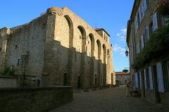 Prieuré - Français:   Vue du prieuré de Champdieu (42)  depuis le nord.