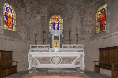 Prieuré - English:  High altar.