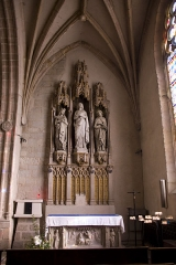 Eglise Notre-Dame - English:  Chapel of the Blessed Virgin, formed by the union of two chapels (XIX century).