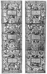 Château de la Bastie-d'Urfé - Deutsch: Verglasungen der Kapellenfenster von Schloss La Bastie d'Urfé