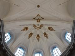 Eglise Saint-Bruno-les-Chartreux - Plafond au bout de l'extension de la nef.