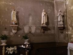 Eglise Saint-Bruno-les-Chartreux - Statues.