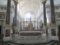 Eglise Saint-Bruno-les-Chartreux -  Lyon (Rhône, France), église St Bruno-les-Chartreux, maître-autel.