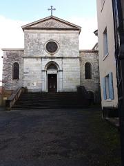 Eglise Saint-Irénée - Façade.