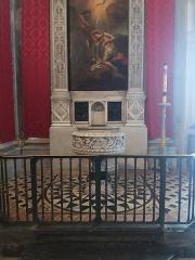 Eglise Saint-Just - Français:   Fonts baptismaux.