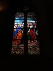 Eglise Saint-Just - Français:   Vitrail.