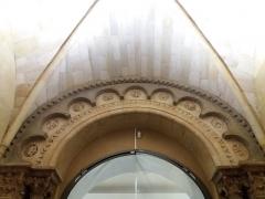 Eglise Saint-Pierre-des-Terreaux - Français:   Haut de l\'ancien clocher-porche, côté nef.