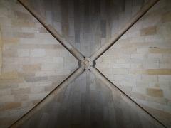 Eglise Saint-Pierre-des-Terreaux - Français:   Plafond de l\'ancien clocher-porche roman.