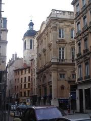 Eglise Saint-Pierre-des-Terreaux - Français:   Lyon, rue du bât d\'argent: partie la plus ancienne