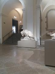 Eglise Saint-Pierre-des-Terreaux - Français:   Église Saint-Pierre-des-Terreaux, salle des sculptures: Lion au serpent de Barye.