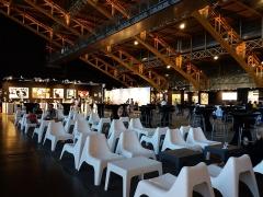 Ancien marché aux bestiaux des abattoirs de la Mouche, actuellement salle des fêtes et salle de concert dite halle Tony Garnier - Français:   7e salon international d\'art contemporain, art3f 2019.