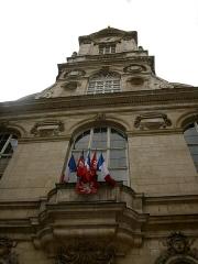 Hôtel de ville - This building is classé au titre des monuments historiques de la France. It is indexed in the base Mérimée, a database of architectural heritage maintained by the French Ministry of Culture,under the reference PA00117820 .