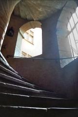 Maison -  Vue intérieure de la Tour Rose, d'époque renaissance, dans le quartier du Vieux-Lyon