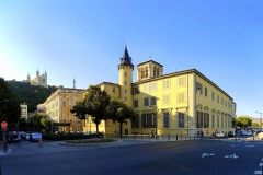 Palais archiépiscopal -  Vieux Lyon - Quarantaine, Lyon, France