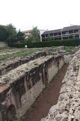 Site archéologique de Fourvière - Français:   Réservoir dit de Cybèle, terminal supposé de l\'Aqueduc du Gier.