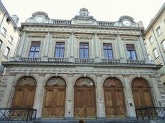 Ancienne Loge du Change, ancien Temple protestant -  Temple du Change, Lyon, France.