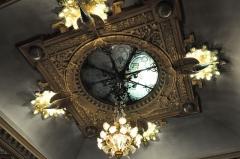 Maison dite Villa des Frères Lumière, actuellement Fondation nationale de la photographie - English: Detail of the ceiling of the Villa Lumière