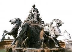 Fontaine Bartholdi -  Image: Bartholdi Fontaine des Terreaux Lyon original.jpg retouchée