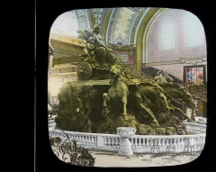 Fontaine Bartholdi -  Bronze Quadriga [chariot drawn by four horses] by Bartholdi for Bordeaux.   From the Henry Clay Cochrane Collection (COLL/1) at the Marine Corps Archives and Special Collections  OFFICIAL USMC PHOTOGRAPH