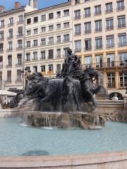 Fontaine Bartholdi - Après remise en eau.