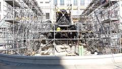 Fontaine Bartholdi - Remontage (14 octobre 2017).